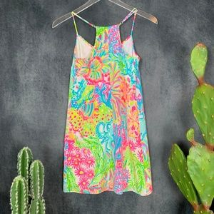 Lilly Pulitzer Dresses - Lilly Pulitzer Dusk Silk Slip Dress Lover's Coral